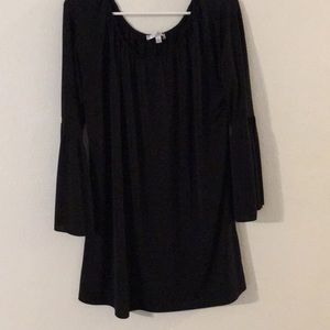 Spense Long Top with Bell Sleeves Sz XL